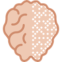 people, Brain, Body Organ, Human Brain, medical, Body Part Wheat icon
