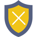 shield, security, defense, weapons, Protection Gold icon