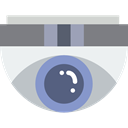 cctv, technology, surveillance, security camera WhiteSmoke icon