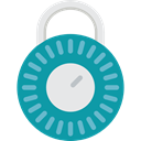 padlock, privacy, Tools And Utensils, security LightSeaGreen icon