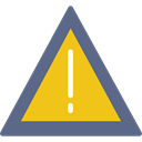 warning, signs, Error, Attention, notice SlateGray icon