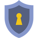 secure, defense, security, Antivirus, shield DimGray icon