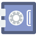 Money, Bank, Safebox, security, Business, Tools And Utensils MediumPurple icon