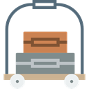 luggage, Bellhop, baggage Icon