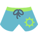 Beach, swimsuit, fashion, Clothes, Summertime MediumTurquoise icon