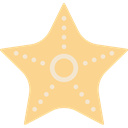ocean, Animals, Starfish, Sea Life, Aquarium, Aquatic Khaki icon
