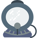 Aqualung, Diving, Avatar, Aquatic, Scuba Diving DimGray icon