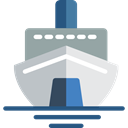Cruise, Ships, transport, Yacht, Boat, ship Black icon