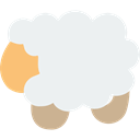Farm, Wool, lamb, Ewe, Animals WhiteSmoke icon