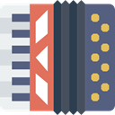 Harmonic, Accordions, Accordion, musical, Music Instrument, Music Instruments, music DarkSlateGray icon