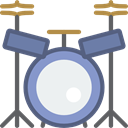 Drum, music, musical instrument, Percussion Instrument, Orchestra Icon