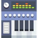 musical, software, digital, Multimedia, Workstation DarkSlateGray icon
