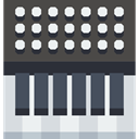 software, music, digital, musical, Workstation DarkSlateGray icon