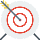 weapons, Archery, Target, Arrows, Arrow, archer, sports, sport, objective WhiteSmoke icon