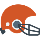 American football, equipment, helmet, Protection, Sportive, sports Chocolate icon