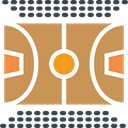 Basketball Court, Playground, Game, sports, Sportive Icon