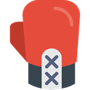 olympic, gloves, punch, Athlete, sports, fight, boxing Tomato icon