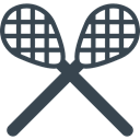 racket, Team Sport, sports, Game, Lacrosse, american DarkSlateGray icon