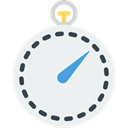 Chronometer, Wait, Tools And Utensils, timer, time, stopwatch WhiteSmoke icon