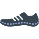 fashion, fitness, Running, sports, footwear, shoe Black icon