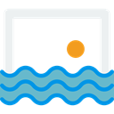 swimming, leisure, Water Sports, sports, waterpolo, Swimming Pool Black icon