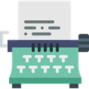 technology, Writing Tool, typewriter, sheet, Page, writing Gainsboro icon