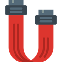 Sata, technology, electronic, Multimedia, Device Crimson icon