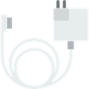 technology, charger, Cable, Device, Multimedia, electronic, Magsafe Lavender icon