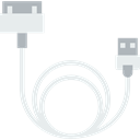 Iphone, Multimedia, Device, charger, electronic, technology, Cable Black icon