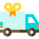 Delivery Truck, transport, truck, Shipping, Automobile, Cargo Truck, Delivery Icon
