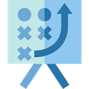 planning, sport, tactics, Business, strategy, sports SkyBlue icon