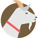 zoo, Animals, Animal Kingdom, wildlife, goat, mammal, Farming Gainsboro icon