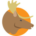 mammal, zoo, Animal Kingdom, Animals, Moose, wildlife Peru icon