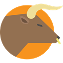 Animals, zoo, Bull, Animal Kingdom, wildlife, mammal Sienna icon