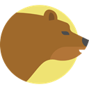 bear, Animal Kingdom, zoo, wildlife, Animals, mammal Sienna icon