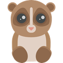 Animal Kingdom, Animals, zoo, wildlife, Lemur Sienna icon