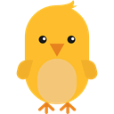 Animals, Animal Kingdom, zoo, chick, wildlife Goldenrod icon