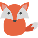 Fox, wildlife, Animal Kingdom, zoo, Animals Tomato icon