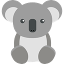 Animal Kingdom, wildlife, zoo, koala, Animals DarkGray icon