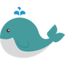 Animal Kingdom, Sea Life, wildlife, zoo, whale, Animals CadetBlue icon
