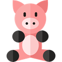 zoo, wildlife, pig, Animal Kingdom, Animals, Animal Black icon