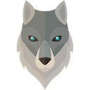 wildlife, Animal Kingdom, zoo, Animals, wolf Black icon