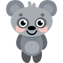 koala, zoo, Animal Kingdom, Animals, wildlife DarkGray icon