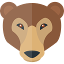 Animals, bear, wildlife, Animal Kingdom, zoo Sienna icon