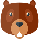 wildlife, zoo, Animal Kingdom, Beaver, Animals SaddleBrown icon