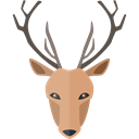 wildlife, deer, Animals, Animal Kingdom, zoo Black icon