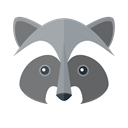 racoon, Animal Kingdom, zoo, wildlife, Animals Black icon