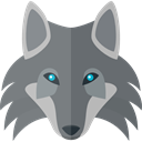 wolf, wildlife, zoo, Animals, Animal Kingdom Gray icon