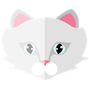 domestic, Animals, kitty, Cat, pet, Animal Kingdom, Feline Gainsboro icon
