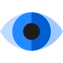 Ophthalmology, Body Part, interface, Multimedia Option, show, optical, Eye Black icon
